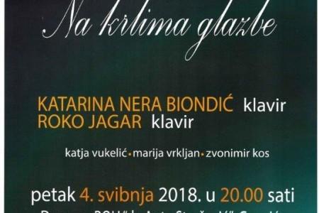 """Poletite """"Na krilima glazbe"""" uz Katarinu Neru Biondić i Roka Jagara!!!"""