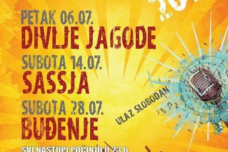 Ove godine na GROCKS-u Divlje jagode, Sassja i Buđenje!!!