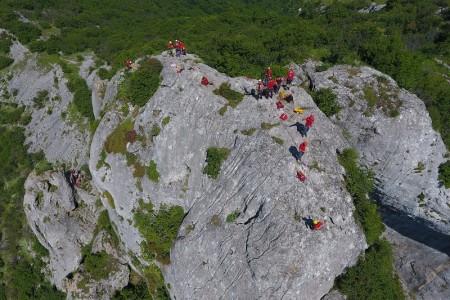 """Gorski spašavatelji """"odradili"""" stijensku vježbu na Ziru"""