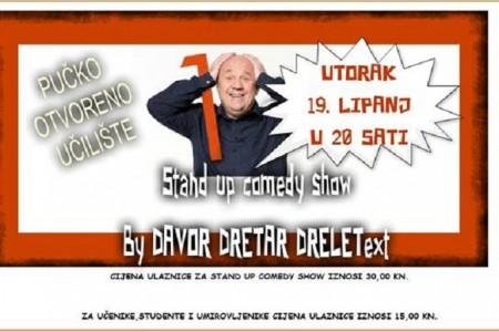 U utorak u Gospić stiže vrhunski komičar Davor Dretar Drele- ne propustite!!!