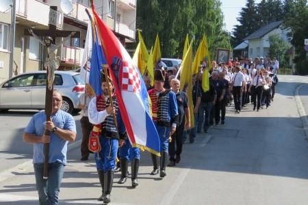 Procesijom, polaganjem vijenaca i paljenjem svijeća odana počast Svetoj Mariji Magdaleni, braniteljima i svima zaslužnima za život u slobodnoj Hrvatskoj!!!