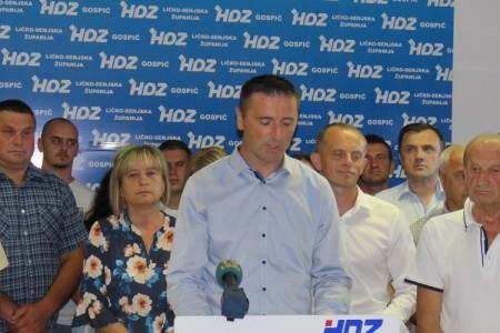 Priopćenje iz  HDZ-a:  otkazana izborna skupština Temeljnog ogranka HDZ-a Gospić zbog onemogućavanja slobode kandidaranja i biranja