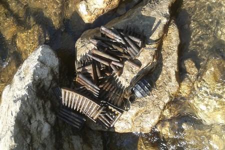 Pronađene bombe i streljivo ispod Kaluđerovačkog mosta
