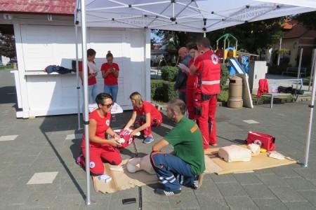 Gradsko društvo Crvenog križa Gospić obilježilo Svjetski dan prve pomoći