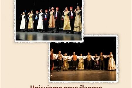 Gospićki Folklorni ansambl upisuje nove članove
