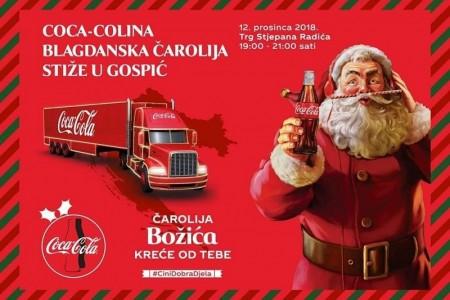 U srijedu u Gospić stiže Coca-Colina blagdanska čarolija