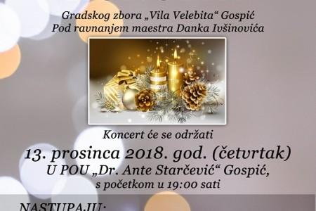 "Večeras u Gospiću jubilarni, deseti Božićni koncert Gradskog zbora ""Vila Velebita""!"