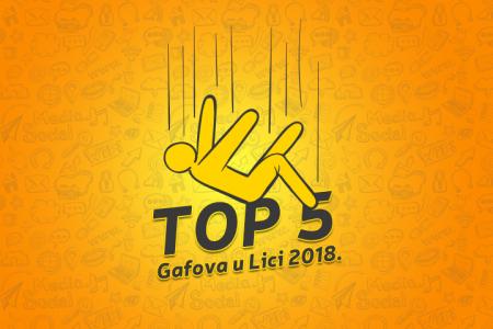 Portal Likaclub izabrao pet ličkih pogodaka i gafova u 2018.godini