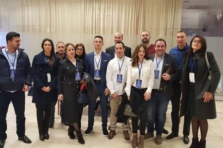Mladi HDZ-ovci iz Ličko-senjske županije na stranačkom Saboru stranke na nacionalnoj razini