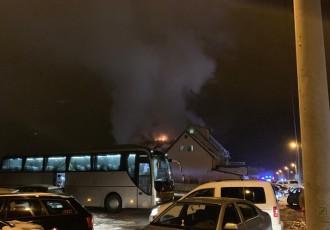 Električne instalacije izazvale požar na Mirnom kutku