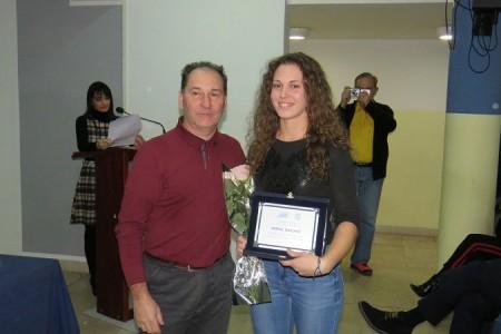 Veslačica Mirna Dasović dobila Nagradu za doprinos razvoju sporta u Ličko-senjskoj županiji
