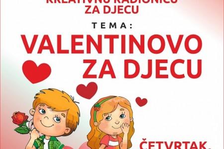 Valentinovo za djecu u gospićkoj knjižnici