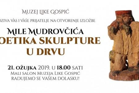 U četvrtak u Muzeju Like otvorenje izložbe autora Mile Mudrovčića