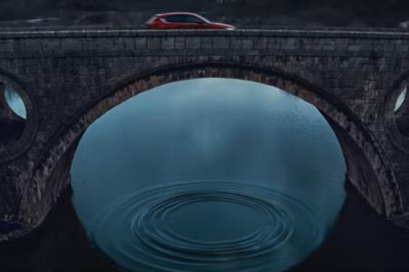 Kosinjski most  kulisa  promocije nove Mazde