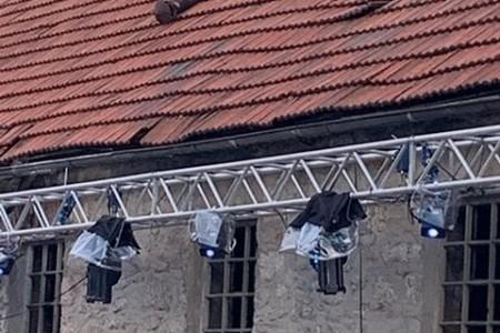 OPREZ: opasnost prijeti s krova Murkovića mlina