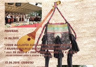 Od 12.do 15.lipnja u Otočcu se održava jubilarna 20.smotra folklora pod pokroviteljstvom predsjednice Grabar Kitarović. Nastupit će Miroslav Škoro