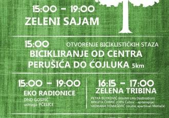 U nedjelju 23.lipnja dođite na Zeleni sajam uz rijeku Liku