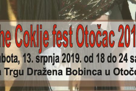 """""""The coklje fest"""" u subotu 13.srpnja u Otočcu"""