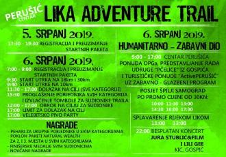 Ne propustite odličnu utrku i zanimljivi događaj  u Perušiću u subotu 6.srpnja