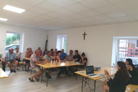 Održana još jedna javna edukacijska tribina na temu gospodarenja otpadom u Gornjem Kosinju