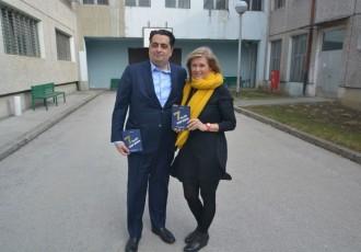U utorak 1.listopada dođite u book caffe Paradiso na predstavljanje knjige Alis Marić i Kenana Crnkića