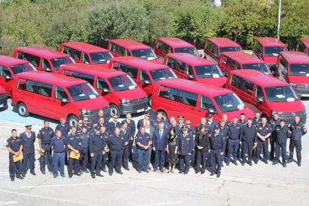 Ministrica Vučković uručila 17 novih vozila Hrvatskoj vatrogasnoj zajednici