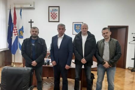 Predstavnici Zrakoplovnog saveza kod župana Darka Milinovića