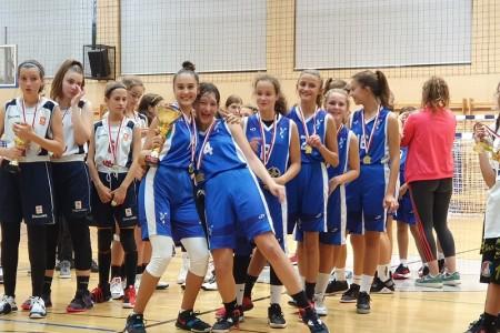 ČESTITAMO: Djevojčice ŽKK Gospić osvojile svoj prvi turnir!!!