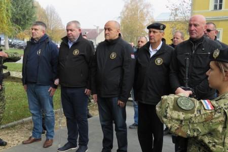 9.gardijska brigada, slavni Vukovi, obilježila 27.obljetnicu ustrojavanja