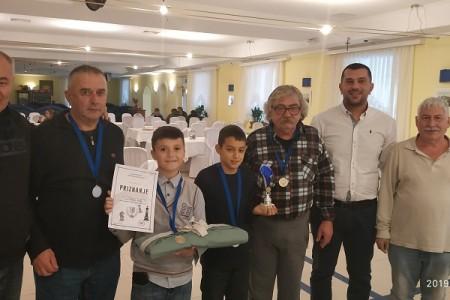 Ekipno prvenstvo Ličko-senjske županije u šahu, Senj prvak, Gospić s mladom ekipom odličan drugi