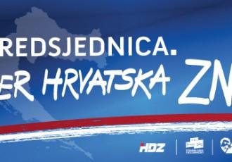 Povjerenstvo HDZ-a Gospić ponosno na podršku stranačkoj kandidatkinji na predsjedničkim izborima