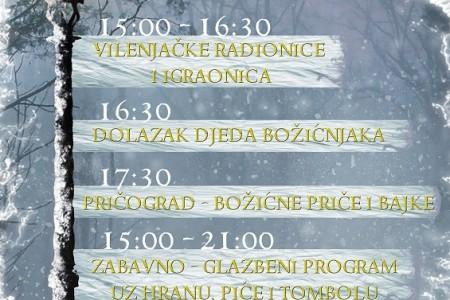 NE PROPUSTITE: u subotu 7.prosinca otvorenje bajkovite božićne čarolije na Grabovači