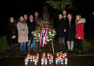 Članstvo HDZ-a Gospića odalo počast predsjedniku Tuđmanu