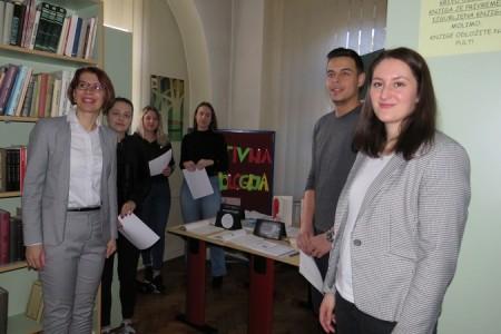 Studentska izložba na Odjelu za nastavničke studije u Gospiću povodom Tjedna psihologije