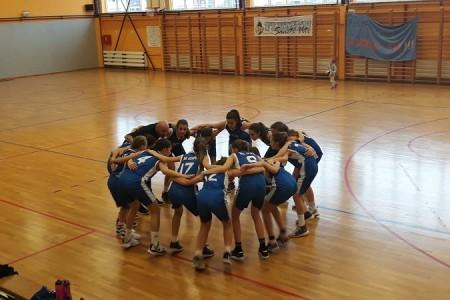 Košarkašice Gospića do 2007.godišta u Dubrovniku se bore za ulazak među 4 najbolje ekipe u državi!!!