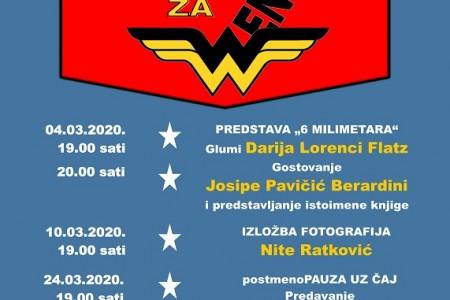 LIJEPO: Ožujak u Pučkom otvorenom učilištu u Gospiću posvećen ženama!!!