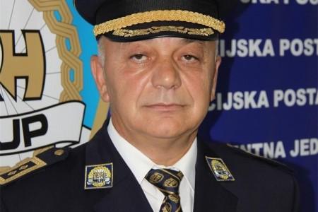 Posljednji pozdrav načelniku Policijske uprave ličko-senjske Josipu Biljanu