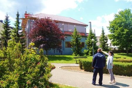 Uskoro gotovi radovi na sanaciji krovišta na zgradi Javne vatrogasne postrojbe Gospić