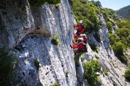 Gorski spašavatelji odradili stijensku vježbu spašavanja