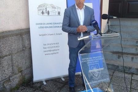 Župan Darko Milinović i uža obitelj pozitivni na COVID-19