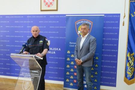 """Damir Trut u Gospiću: """"u korona krizi odlično smo reagirali""""!"""