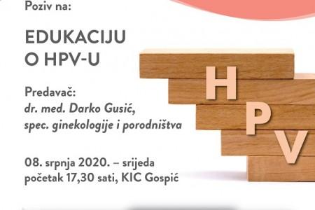Danas u KIC-u edukacija o HPV-u