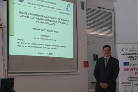 BRAVO: Joso Vrkljan doktorirao najvišom ocjenom- lički cestari i lovci dobili novog doktora znanosti!!!