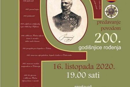 Predavanje o generalu Franji Filipoviću