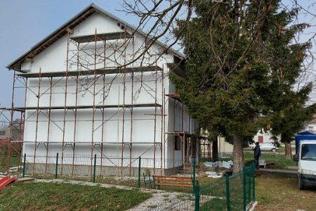 Obnova zgrade bivše veterinarske stanice u Lovincu