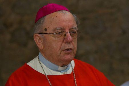 Biskup u miru mons.dr.Mile Bogović prevezen u Respiratorni centar u Rijeku