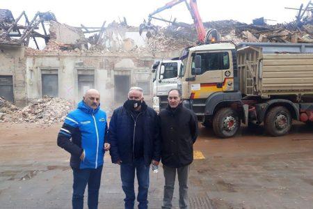 PREDIVNA GESTA: Karlo Starčević i Ivica Tomljenović posjetili potresom pogođena područja