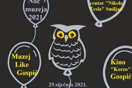 Noć muzeja 2021.u Gospiću i Smiljanu