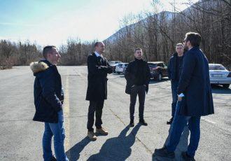 Čelnici Mladeži HDZ-a posjetili županijske stranačke kolege i općinu Plitvička Jezera