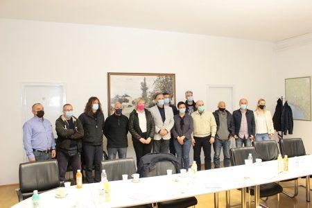 Anto Nobilo, predsjednik Hrvatskog taekwondo saveza, u subotu se sastao u Čavlima s predstavnicima Primorsko – goranske, Istarske i Ličko –senjske županije